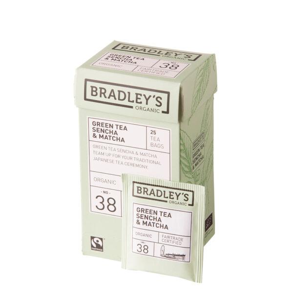 Bradley's Grean Tea Sencha & Matcha