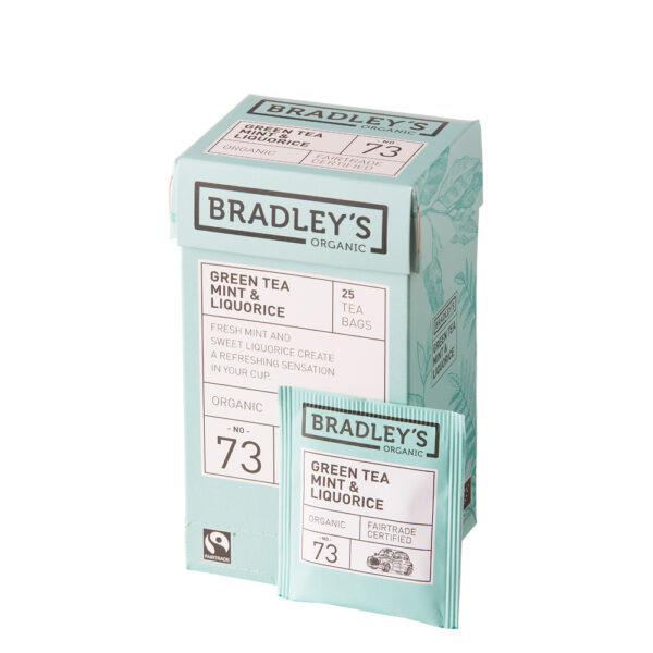 Bradley's Green Tea Mint & Liquorice