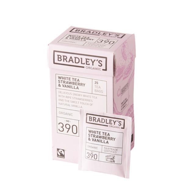 Bradley's White Tea Strawberry & Vanilla