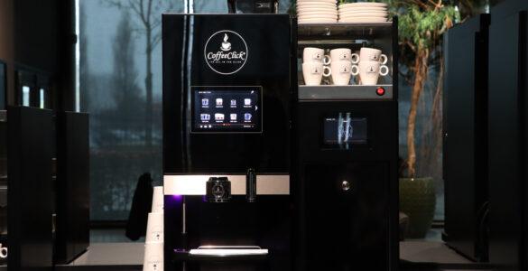 Koffiemachine bij jou op het werk