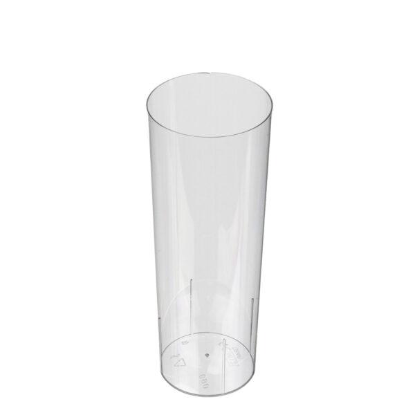 Plastic longdrinkglas