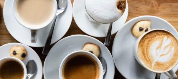 Verschillende koffie soorten